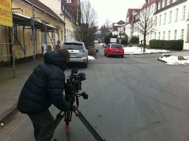 Dieter filmt Notarzt