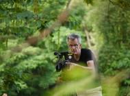 Kameramann Bernhard im Blätterwald.