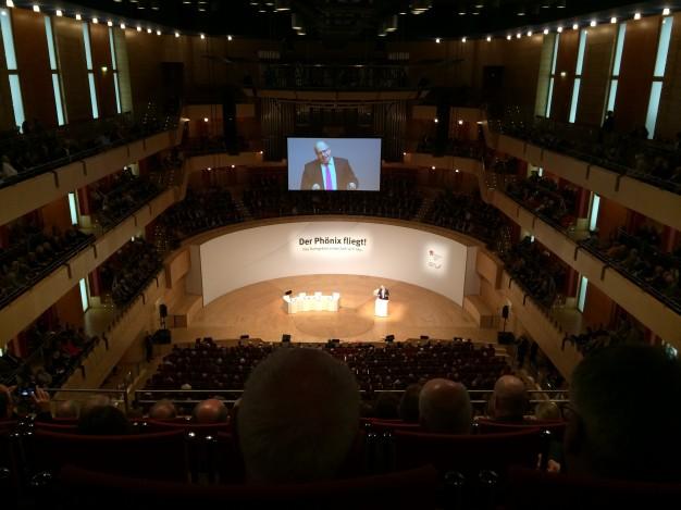 In der Essener Philharmonie fand das Politische Forum Ruhr zum Thema Energiewende statt.