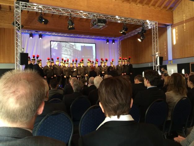 RAG-Chor Bergmannsheil auf Bühne