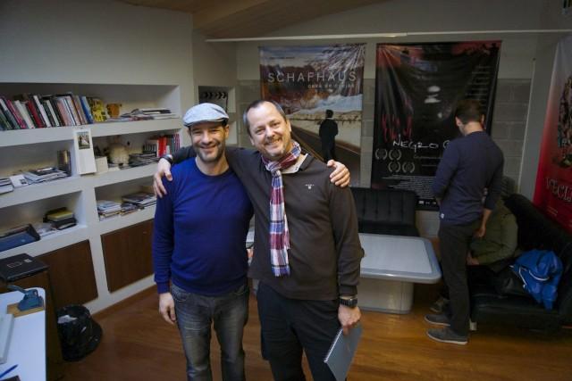 Im Studio von Alberto Masliah in Buenos Aires. Matthias Heise durfte Einblick nehmen in großartige Dokumentationsprojekte des argentinischen Filmemachers.