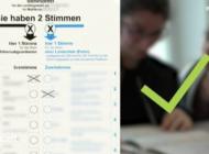 Was darf man auf den Stimmzettel schreiben und was nicht? Nur eine von vielen Fragen, die der Film in leichter Sprache beantwortet.
