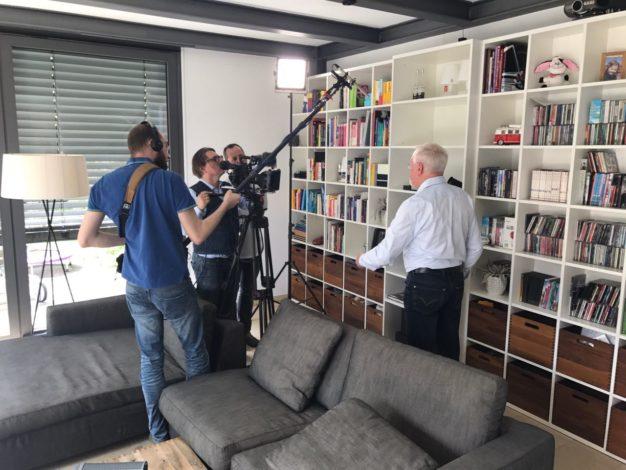 Erklärung im Wohnzimmer von Werner Bublitz.